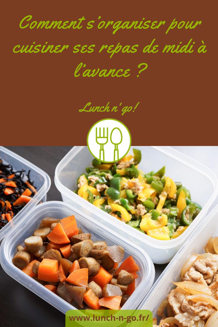 Pour ceux qui déjeunent au bureau, s'organiser pour cuisiner les repas de midi à l'avance est une aubaine. On vous explique comment faire !