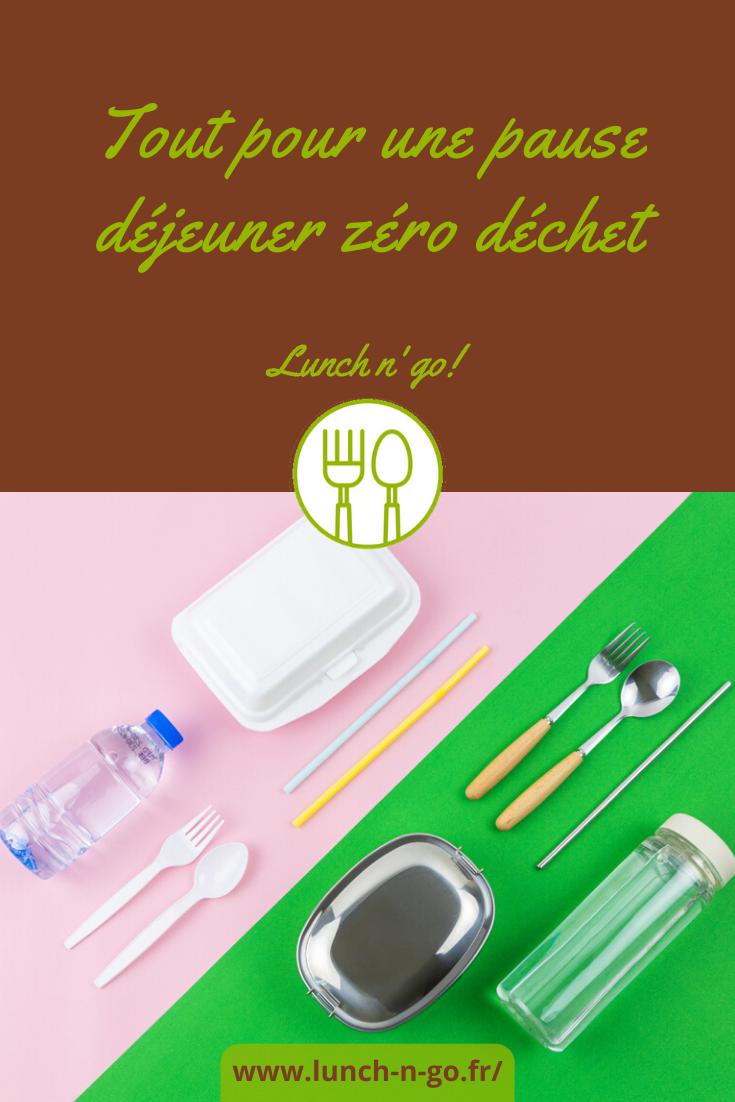 Découvrez les changements d'habitudes que vous pouvez opérer pour une pause déjeuner zéro déchet au bureau.
