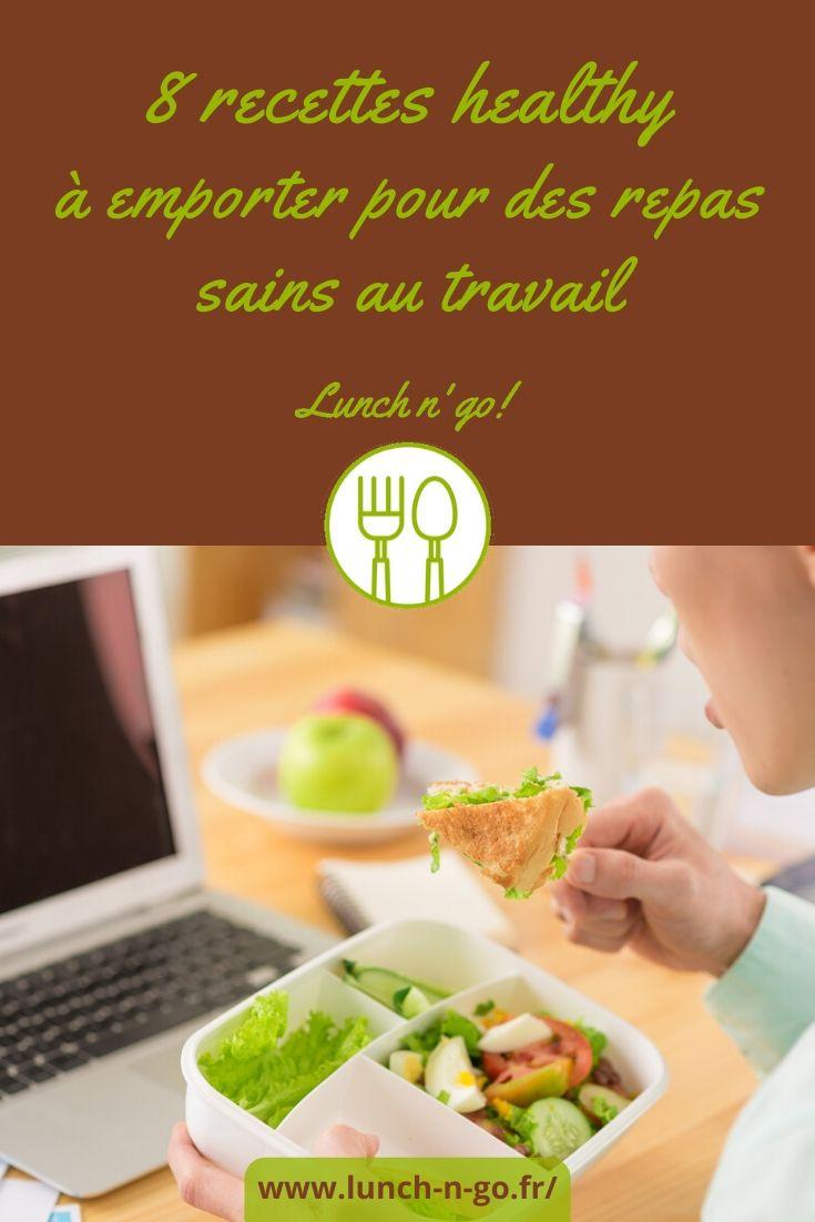 Pouvoir profiter d'une nutrition au top avec des plats sains, pleines de vitamines et d'oligo-éléments que vous emporterez joyeusement au boulot !