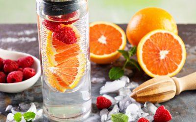 23 recettes d'eaux aromatisées simples et rapides