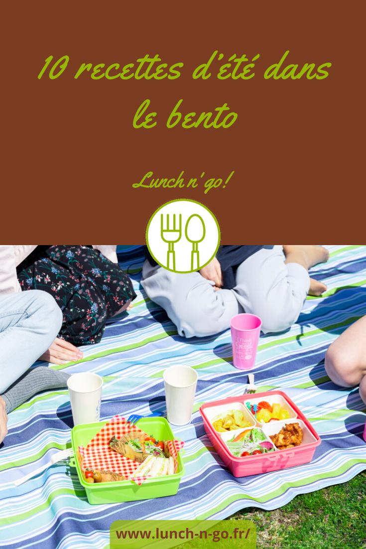 10 Recettes d'Été dans le Bento En partance pour le bureau ou pour un pique-nique improvisé, vous saurez enfin quoi mettre dans le bento. Faciles et rapides à cuisiner, voici des petits plats ensoleillés à embarquer dans sa lunch box préférée. Et, merveille des merveilles, ces 10 recettes d'été à emporter à la pause déjeuner se transportent facilement et conservent leurs attraits dans leur petite boîte à l'heure du repas. 1. Salade estivale Cuisez 2 œufs durs. Faites revenir des gésiers confits (ou lardons) et un oignon émincé à la poêle. Pendant ce temps, émincez du poivron et un oignon vert dans un saladier. Ajoutez du maïs, des dés de jambon, puis les gésiers, les oignons cuits. Mélangez. Posez une belle et grande feuille de salade iceberg au fond du bento et versez la salade dans ce bol improvisé. Posez les œufs tranchés et éparpillez de la feta et quelques copeaux de parmesan. Pas de bol pour votre assaisonnement d'huile et de vinaigre qui sera confiné seul, dans un contenant hermétique pour préserver la jeunesse de votre salade. 2. Salade de tomates aux fraises et son magret fumé Tranchez finement des tomates de variétés différentes. Émincez les fraises en lamelles. Posez-les en les alternant. Salez, poivrez. Parsemez de basilic ciselé et de mozzarella émiettée. Pfiou ! Comme vous faites ça bien ! On dirait du Maïté. Transcendant ! Accompagnez votre création gustative de haut vol par des tranches de magret fumé et éventuellement de lentilles corail. Le vinaigre balsamique et l'huile d'olive voyageront à part, dans la soute, car on ne sait jamais avec eux. 3. Céleri et betteraves en méli-mélo au poulet Épluchez et râpez un morceau de céleri. Râpez dessus une betterave cuite de façon à obtenir une espèce de purée. Ciselez un oignon blanc et sa tige. Coupez menu une tomate et un blanc de poulet. Mélangez. Ajoutez du cerfeuil et du persil ciselés. Préparez votre assaisonnement dans son récipient personnel de paria : sel, poivre, huile de colza et vinaigre. 4. Cake