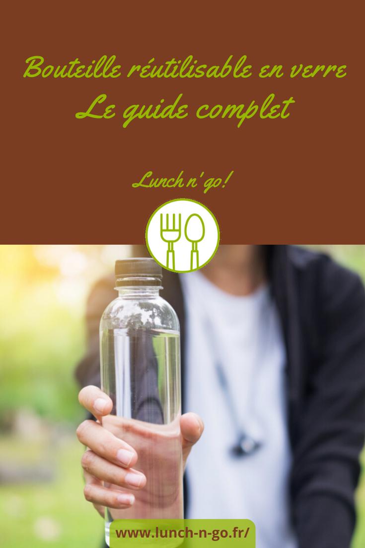 Les bouteilles d'eau en verre sont pratiques, écolos, réutilisables et hygiéniques. N'hésitez plus, choisissez le modèle dont vous avez besoin !