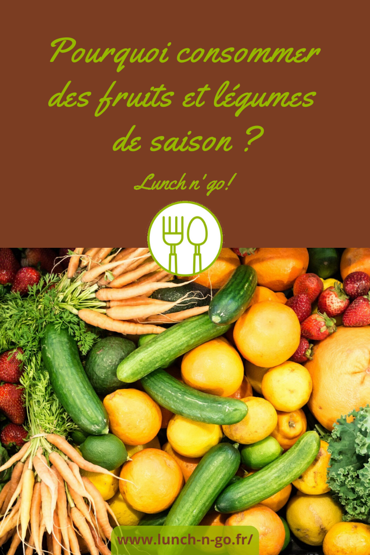 Les arguments en faveur de la consommation de fruits et légumes de saison ? Qualités gustatives & nutritives, bénéfices environnementaux et coût modéré !