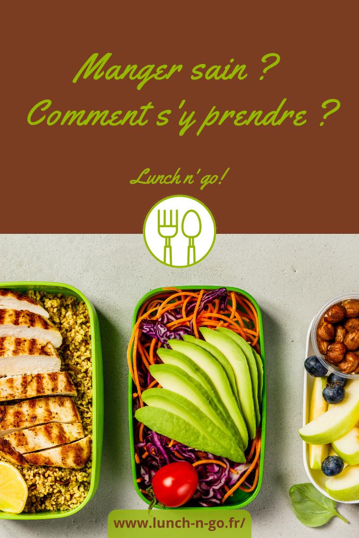 Appliquez quelques conseils faciles à mettre en œuvre pour adopter une alimentation saine. Votre santé en dépend !