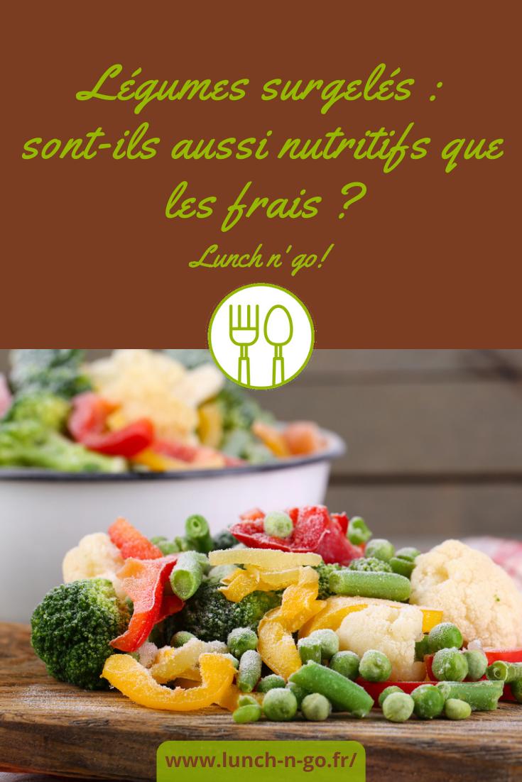 Les légumes surgelés altèrent-ils la qualité nutritionnelle des produits? Sont-ils aussi nutritifs que les frais? Réponse ! Pour consommer le meilleur.